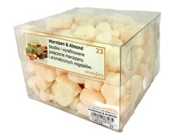 INTENSIVE COLLECTION Scented Wax kg wosk zapachowy - 650 g - Marzipan & Almond