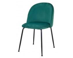 Krzesło do jadalni Messa zielone welur