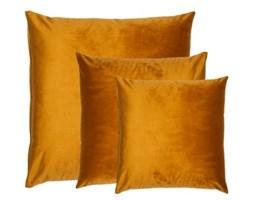 Cudowna aksamitna poduszka GOLD POMME TERRE SET Miodowa