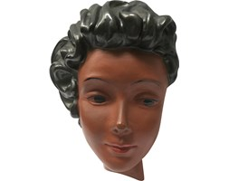Maska ceramiczna, Austria, lata 50.