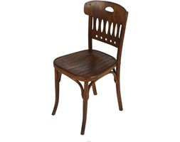 Krzesło, proj. J. Hoffmann, Mundus, Austria, lata 20.
