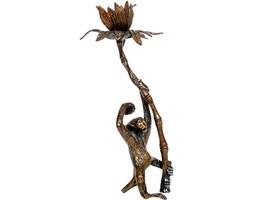 Figura małpki z palmą, pocz. XX w.