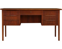 Palisandrowe biurko, Dania, lata 70.