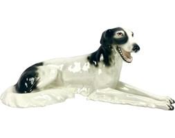 Figurka psa, Royal Dux Bohemia, Czechosłowacja, lata 20.
