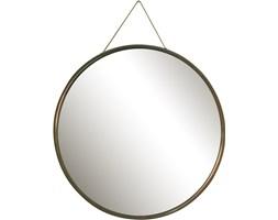Okrągłe lustro ścienne, lata 50.