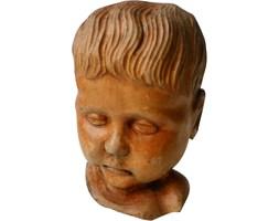Rzeźba głowy dziecka, lata 70.