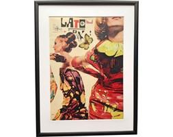 Oprawiony plakat mody Lato, aut. I. Penn, 1964r.