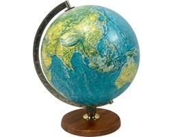 Podświetlany globus Scan-Globe na tekowej stopce, Dania, lata 70.