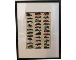 Plakat modeli samochodów, 1945