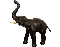 Figura skórzanego słonia, lata 60.