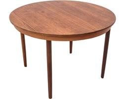Okrągły stół rozkładany, Dania, lata 60.