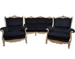 Komplet sofa i fotele w stylu Ludwika XV, Francja, początek XX w.