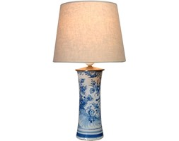 Lampa z fajansu Delft, Holandia, XVIII w.