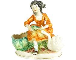 Ceramiczna figura, Capodimonte, Włochy lata 50.