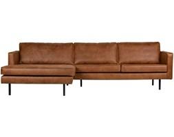 Sofa Rodeo narożna lewostronna brązowa, Be Pure