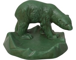 Figurka niedźwiedzia, Michael Andersen Son's, Dania, lata 60.