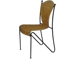 Rattanowe krzesło z lat 60.