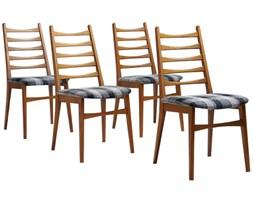 Cztery bukowe krzesła Lubke, 1955 r.