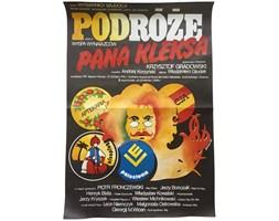 Plakat filmowy Podróże Pana Kleksa cz. II, proj. Erol, 1985 r.