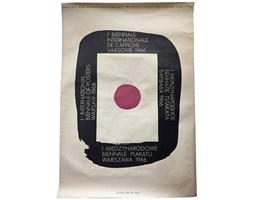 Plakat I Międzynarodowe Biennale Plakatu, proj. W. Zamecznik, 1966 r.