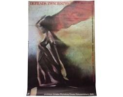 Plakat filmowy Defilada zwycięstwa, proj. Kamiński, 1985 r.