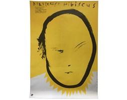 Plakat filmowy Miasteczko Hibiscus, proj. Wasilewski, 1989 r.