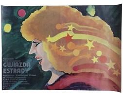 Plakat filmowy Gwiazda estrady, proj. Flisak, lata 70.