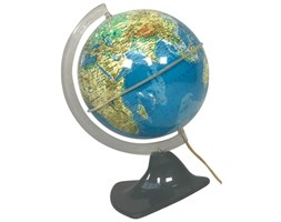 Globus podświetlany, lata 50.