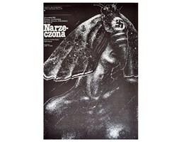 """Plakat filmowy Narzeczona"""", L. Majewski, 1980 r."""