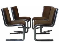 Krzesła chromowane, Niemcy, lata 70.