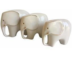 Komplet figurek słoni, lata 60.
