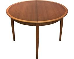 Zestaw rozkładany stół z sześcioma krzesłami, Lübke, lata 60.