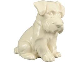 Ceramiczna figurka psa terriera, lata 30.