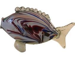 Szklana figurka ryby, Murano, Włochy, lata 70.