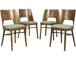 Komplet czterech krzeseł, Tatra, Czechosłowacja, lata 60.