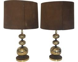 Para lamp stołowych w stylu Hollywood Regency, Niemcy, lata 60.