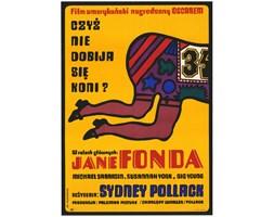 Plakat filmowy Czyż nie dobija się koni, aut. J. Młodożeniec, Polska, 1971 r.