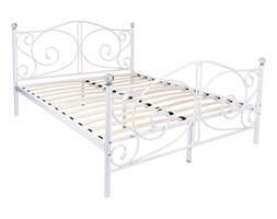 Łóżko metalowe Kanto 160x200 - białe