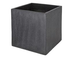 Donica Verve efekt cementu 50 cm antracyt
