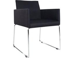 Krzesło Livorno czarne tkanina