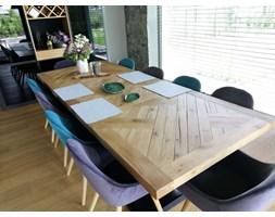 Stół drewniany dębowy toczone nogi Piano