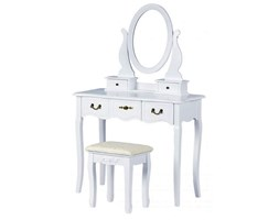 elegancka toaletka lorena 2x - biała