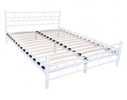 Łóżko metalowe Flavio 140x200 - białe