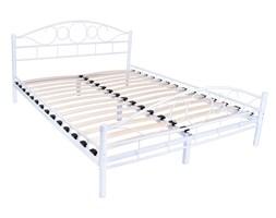 Łóżko metalowe Arrigo 160x200 - białe