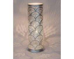 TALLY FAN-Lampa stojąca Cylinder Metal Perforowany Wys.45cm | -10% z kodem HALO10