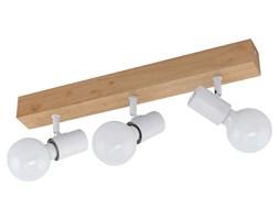 EGLO Reflektor LED Townshend 3, 3 żarówki, drewniany, beżowo-biały
