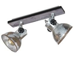 EGLO Reflektor Barnstaple, 2 żarówki, patynowany brązowy i czerń