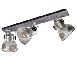 EGLO Reflektor Barnstaple, 3 żarówki, patynowany brązowy i czerń