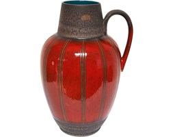 Wazon, Carstens Keramik, Niemcy, lata 60.