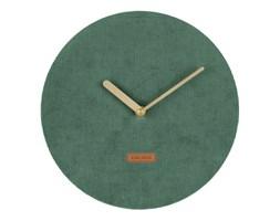 Zegar ścienny Corduroy dark green by Kar
